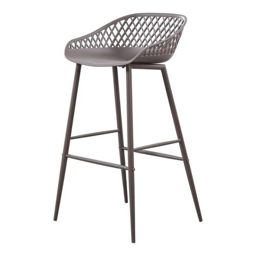 Moe's Home Collection - Piazza Outdoor Barstool Grey-m2