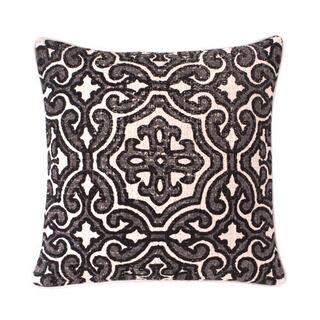 See Details - Alba Pillow Cover Black