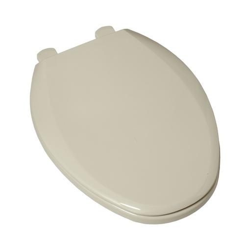 Slow Close Easy Lift and Clean Elongated Toilet Seat  American Standard - Linen