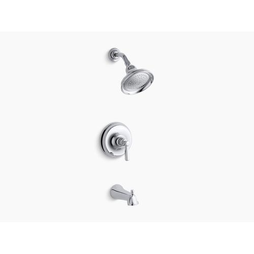 Kohler - Oil-rubbed Bronze Rite-temp Bath and Shower Trim Set With Npt Spout, Valve Not Included