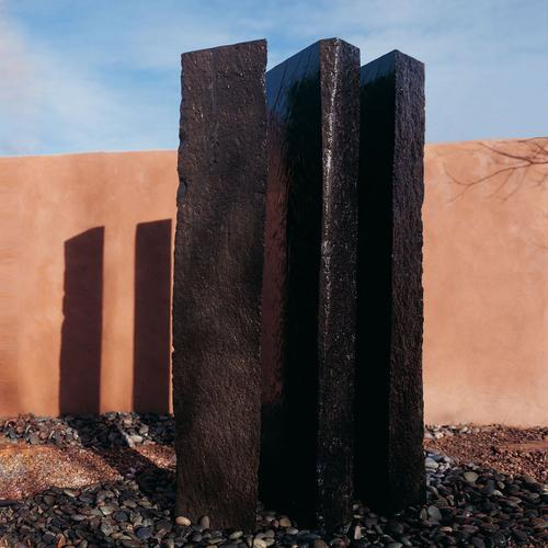 Stone Forest - Outdoor Fountain: Triple Basalt Fountains (sets of 3) 60 Inch Height