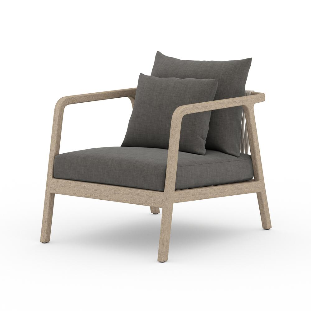 Charcoal Cover Numa Outdoor Chair - Washed Brown