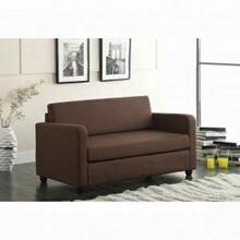 ACME Conall Adjustable Sofa - 57085 - Chocolate Fabric