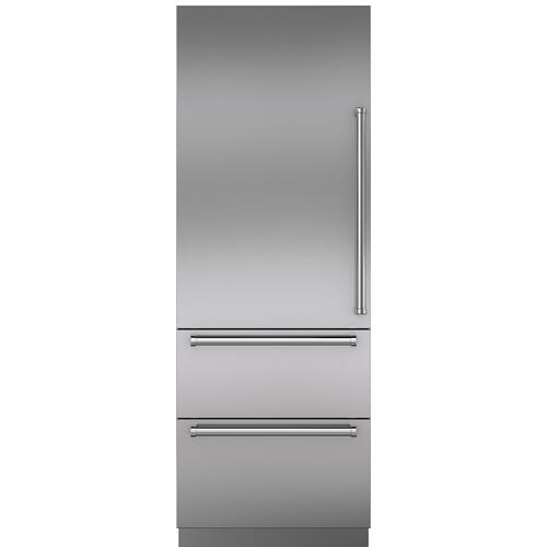 Stainless Steel Door Panel with Pro Handle - LH