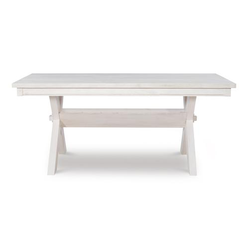 Powell Company - Turino Distressed White Dining Table