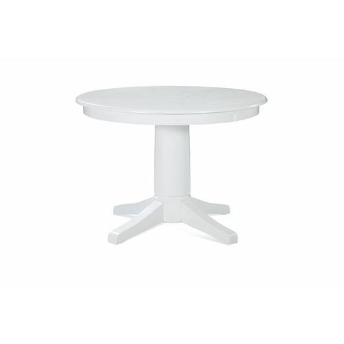 42'' Round pedestal table