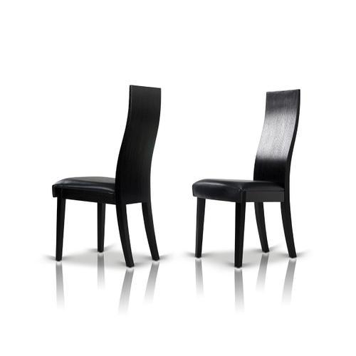 VIG Furniture - Escape - Modern Black Oak Dining Chair (Set of 2)