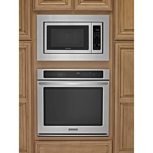 Whirlpool - 30 in. Microwave Trim Kit for 1.6 cu. ft. Countertop Microwave Oven