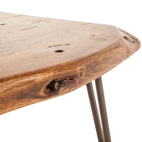 "Vail 54"" Coffee Table Walnut"