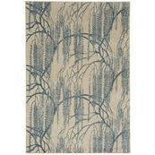 """Willow Azul - Rectangle - 3'11"""" x 5'5"""""""