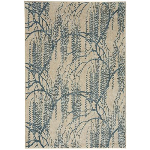 "Willow Azul - Rectangle - 3'11"" x 5'5"""