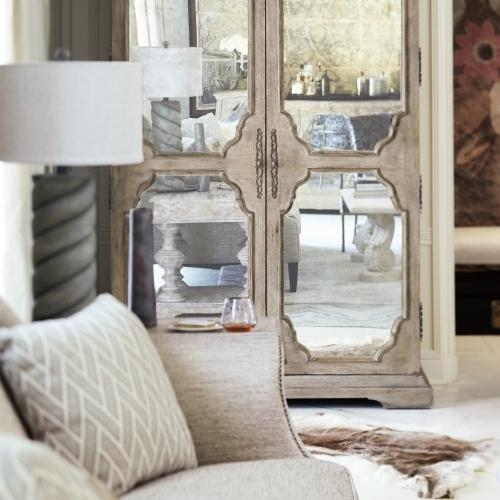 Bernhardt - Campania Armoire in Weathered Sand (370)