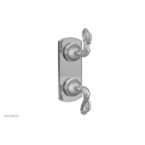 SWAN Thermostatic Valve with Volume Control or Diverter 4-443 - French Brass