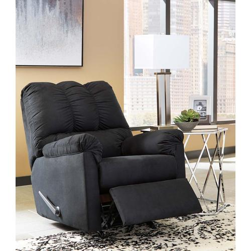 Darcy Rocker Recliner Black