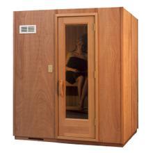 Traditional Sauna Room - Modular - 4x6 - 4.5kW Heater