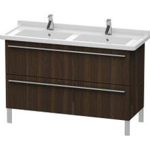 Vanity Unit Floorstanding, Brushed Walnut (real Wood Veneer)