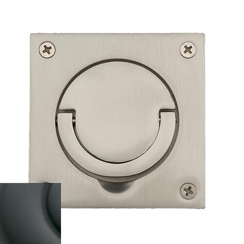 Baldwin - Oil-Rubbed Bronze Flush Ring Pull