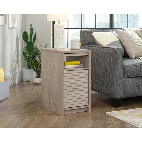Side Table with Pull Out Shelf