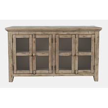 See Details - Rustic Shores 4 Door Low Cabinet