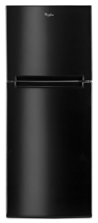 Whirlpool25-Inch Wide Top Freezer Refrigerator - 11 Cu. Ft. Black