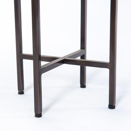 Ash Brown Finish Hannah Accent Table