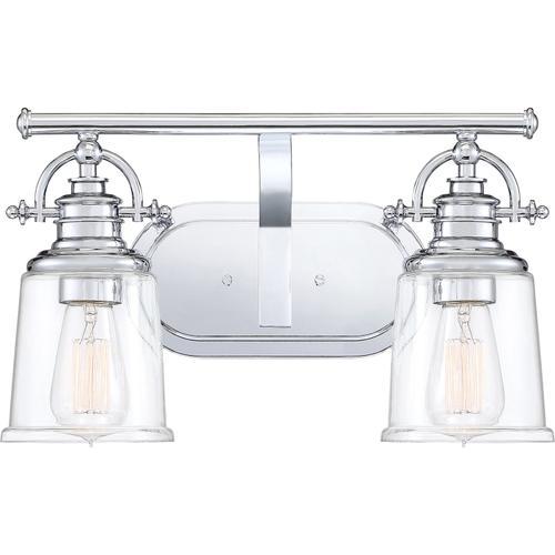 Quoizel - Grant Bath Light in Polished Chrome