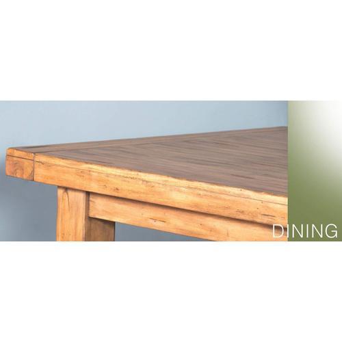 Sierra Crossback Chair w/ Wood Seat
