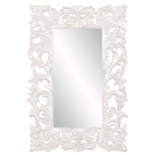 Howard Elliott - Augustus Mirror - Glossy White