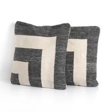 Nia Outdoor Pillow-d Chrcl, C-set of 2-20
