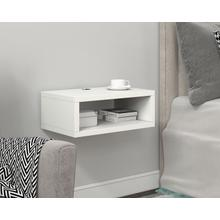 See Details - Open Wall Mount Nightstand