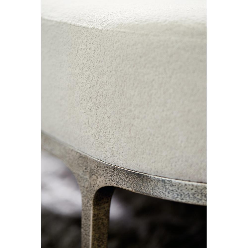 Linea Metal Bench in Textured Graphite Metal (384)