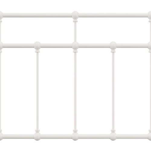 Gallery - Providence Metal Full Bed, Soft White