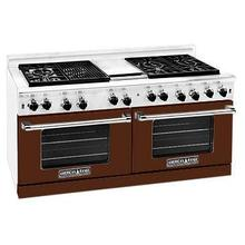 """View Product - Professional 60"""" Residential Range Brown Color"""