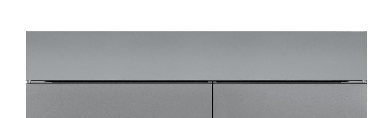 """Subzero66"""" Dual Flush Inset Stainless Grille Panel"""
