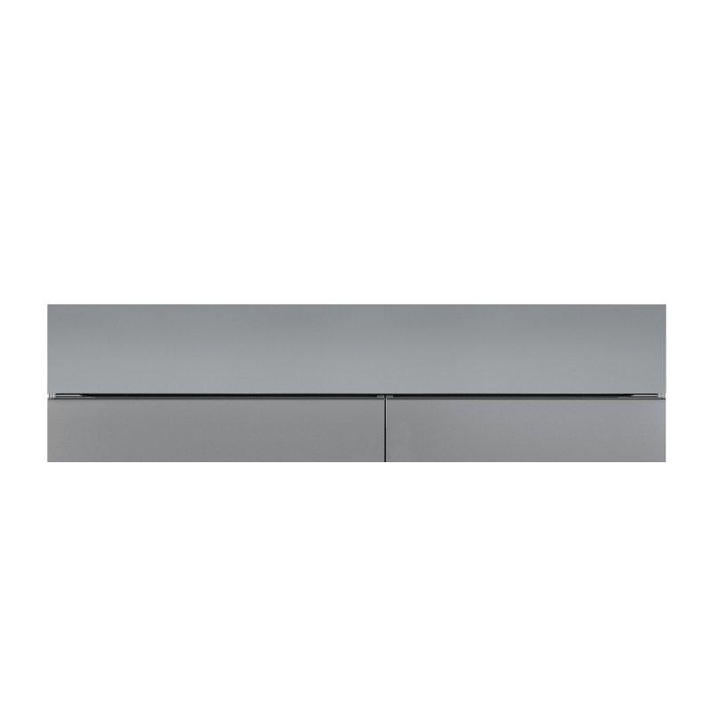 """66"""" Dual Flush Inset Stainless Grille Panel"""