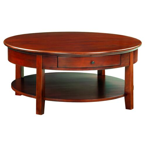 "GAC McKenzie Round Cocktail Table (40""D)"