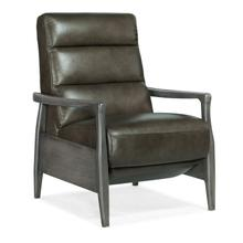 See Details - Marlin Pushback Recliner with Exposed Wood Arm