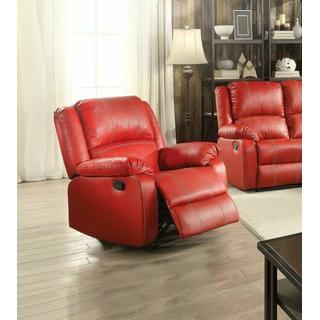 ACME Zuriel Rocker Recliner - 52152 - Red PU