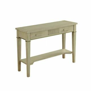 ACME Siskou Console Table - 90176 - Antique White
