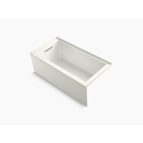 """Dune 60"""" X 30"""" Alcove Bath With Integral Apron, Integral Flange and Left-hand Drain"""