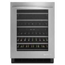 "DISCONTINUED MODEL Euro-Style 24"" Under Counter Wine Cellar Stainless Steel"