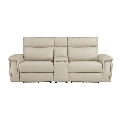 Gallery - Power Double Reclining Love Seat with Center Console and Power Headrests