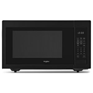 Whirlpool1.6 cu. ft. Countertop Microwave with 1,200-Watt Cooking Power Black