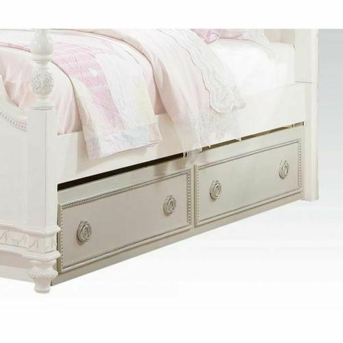 ACME Dorothy Trundle (Twin) - 30364 - Ivory