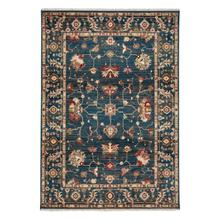 Landis-Keshan Cerulean Blue Machine Woven Rugs