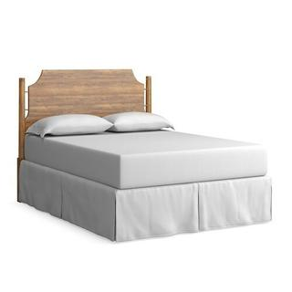 Midtown Maple Panel Headboard Queen-Low, Footboard None