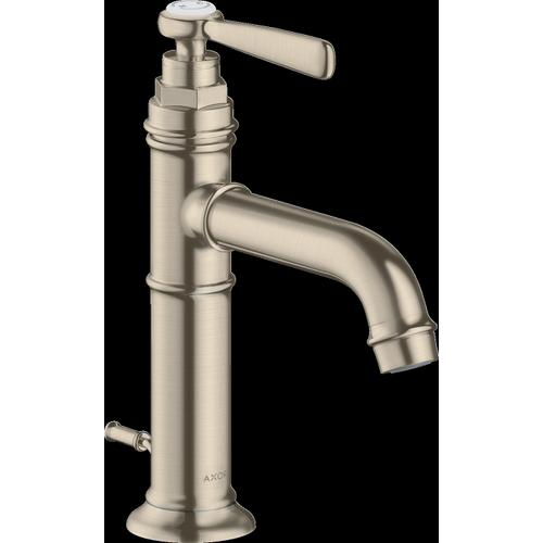 AXOR - Brushed Nickel Single-Hole Faucet 100 with Pop-Up Drain, 1.2 GPM