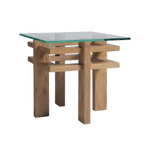 Calcutta Square End Table