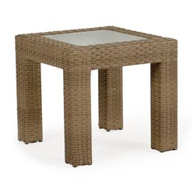 """24"""" x 23.5"""" Square End Table"""