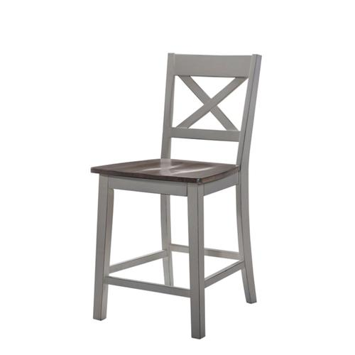 5059-55 COUNTER HEIGHT CHAIR - GREY